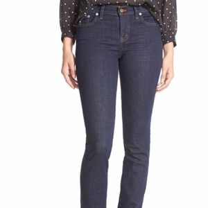 Madewell Size 32 High Rise Alley Straight Leg Denm